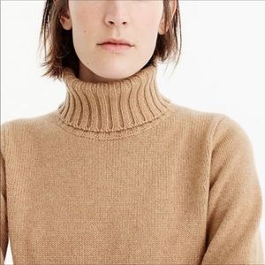 J. Crew wool turtleneck sweater sz S